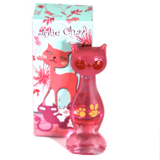 fragrance in the shape of a cat